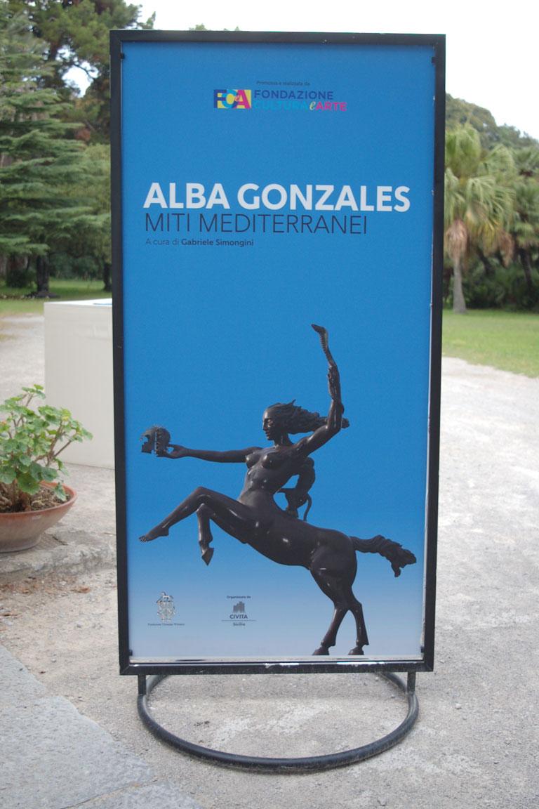 Alba Gonzales 2018 mostra di sculture a Palermo