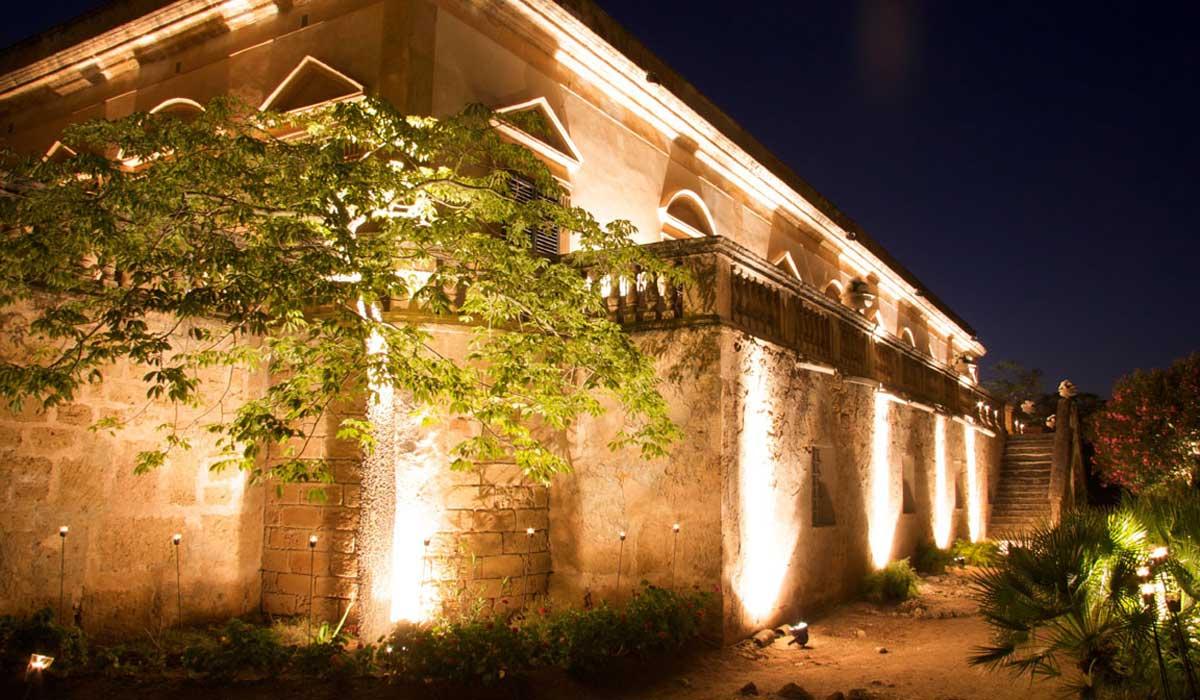 illuminazione per ville, giardini