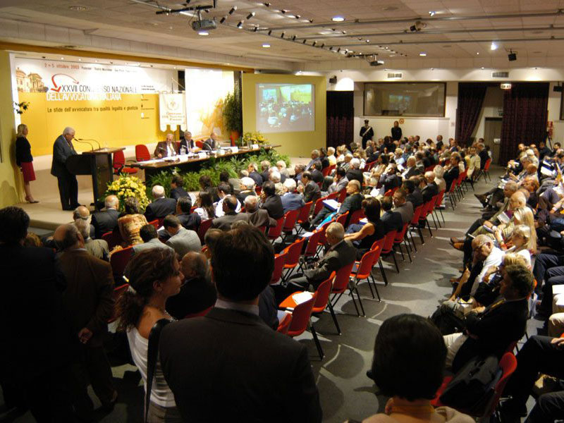 allestimento per conferenze, meeting e congressi