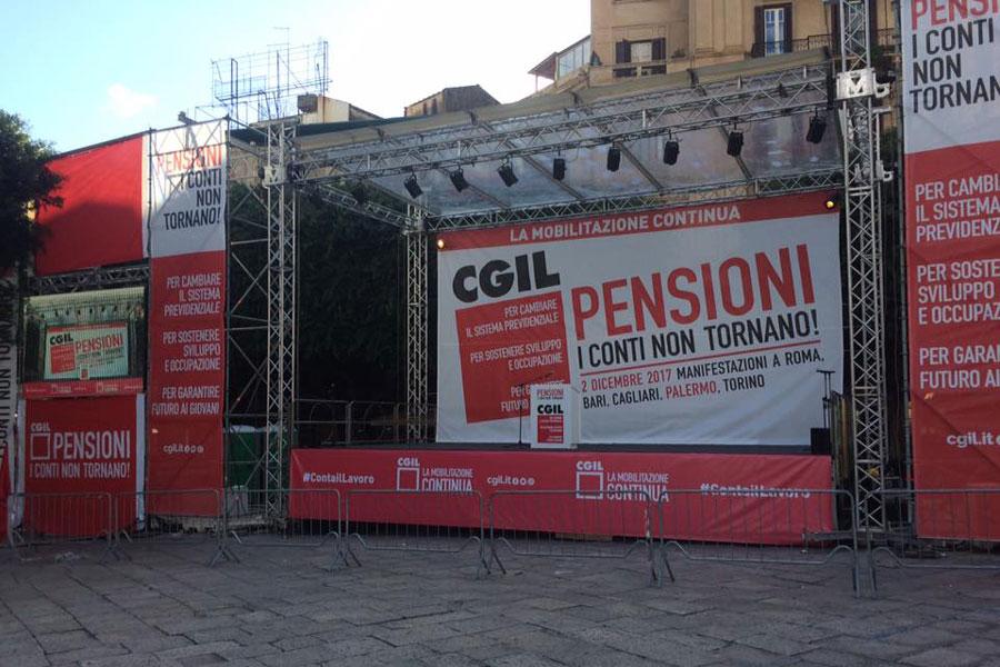 congresso cgil pensioni a palermo