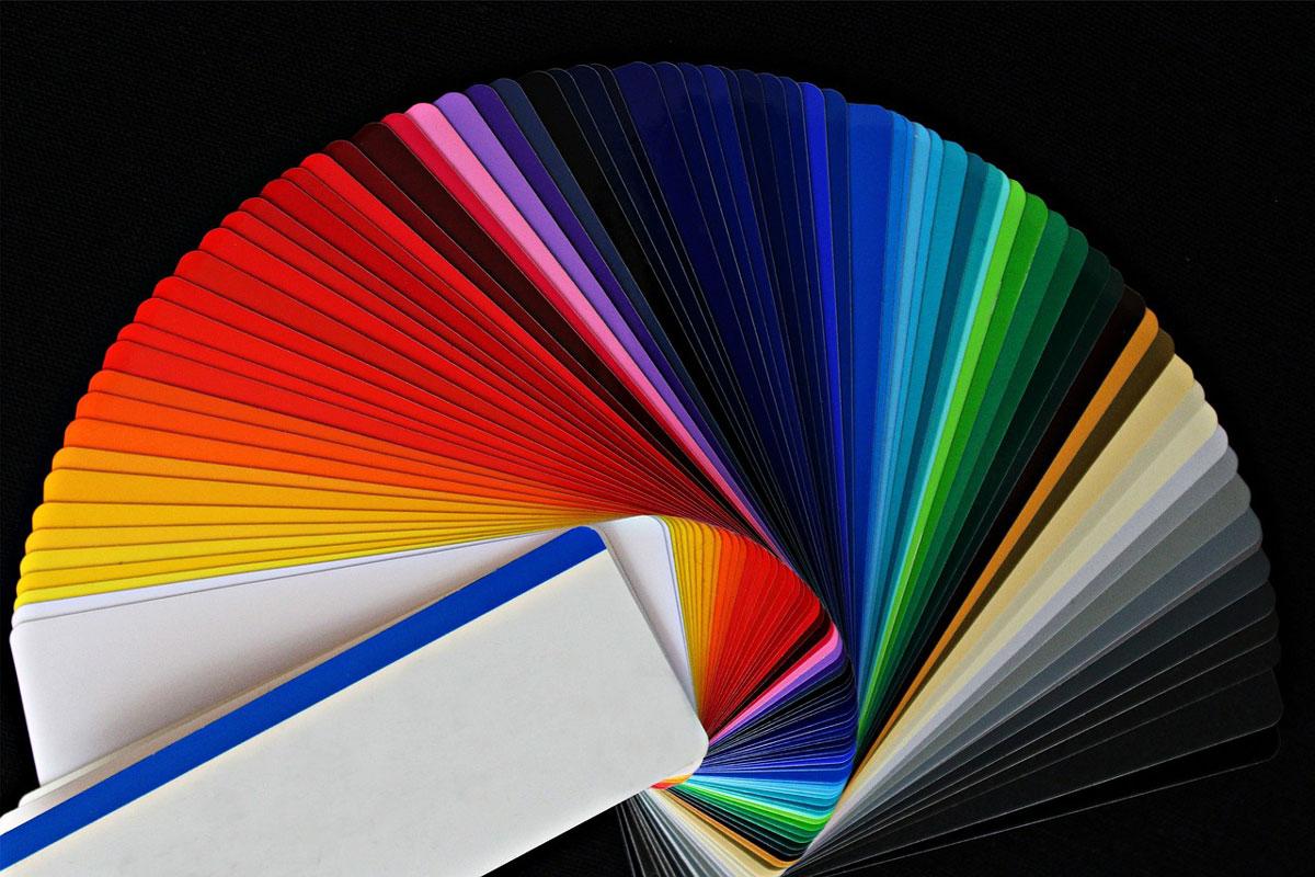 paletta di colori per moquette