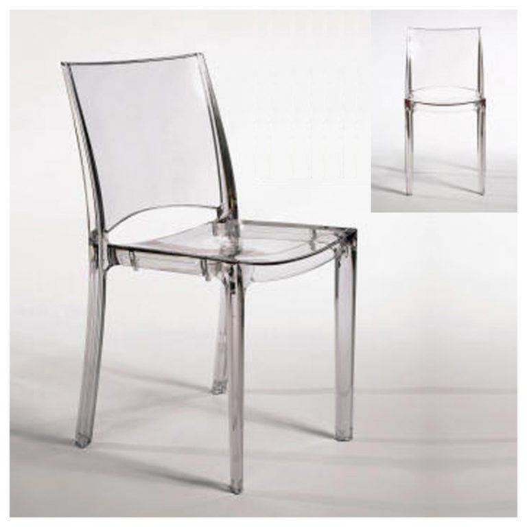 noleggio sedia in plexiglass trasparente palermo