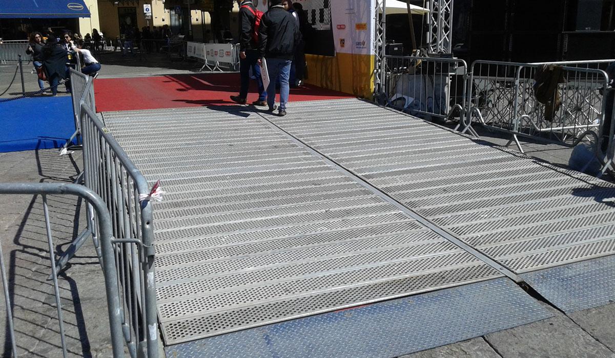 palco partenza auto