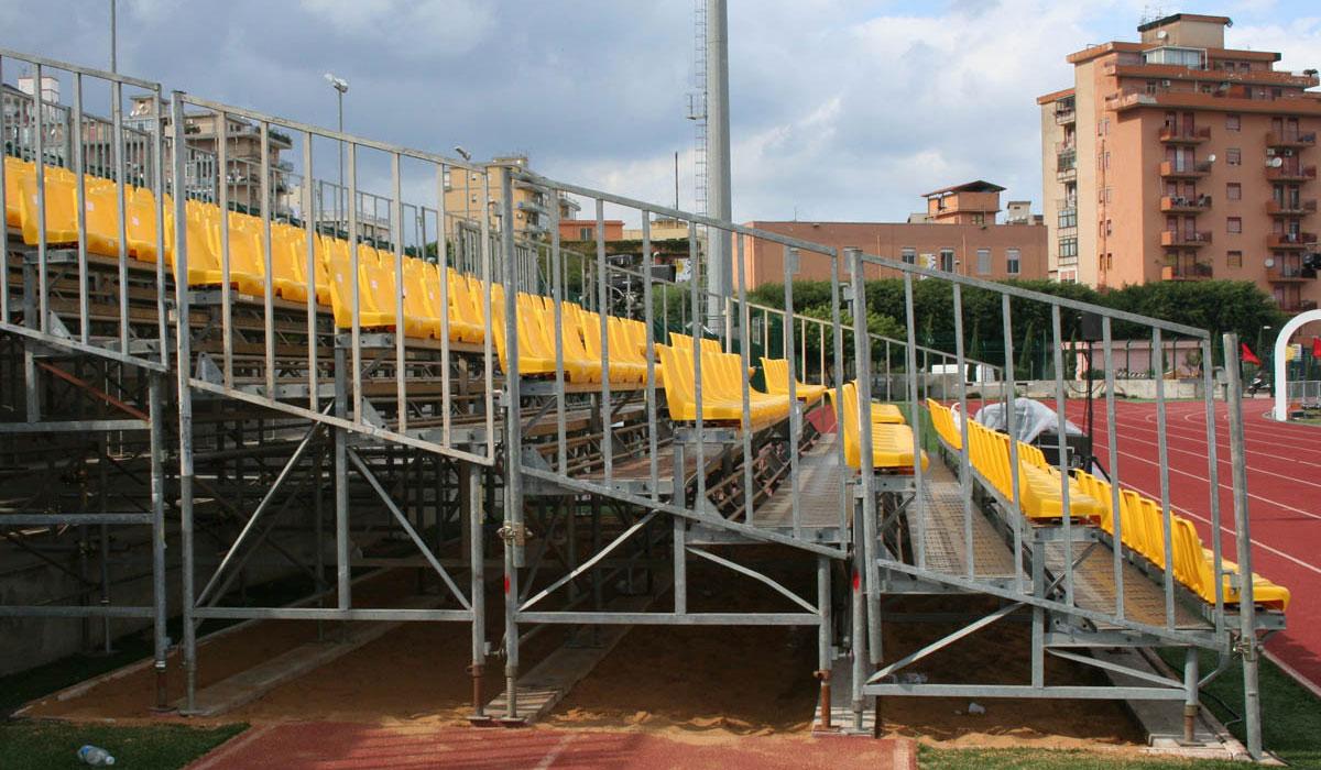 installazione tribuna palermo