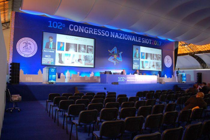 palco per convention, connvegni, meeting e conferenze