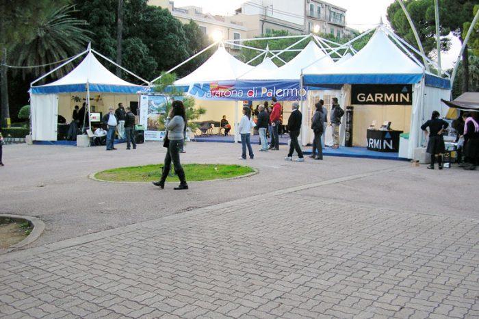 affitto e noleggio gazebo per manifestazioni sportive