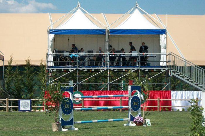 affitto gazebo per manifestazioni sportive