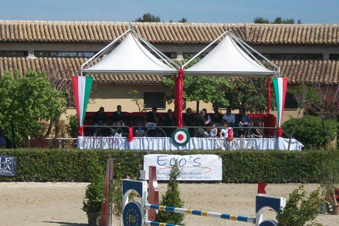 gazebo per manifestazioni sportive