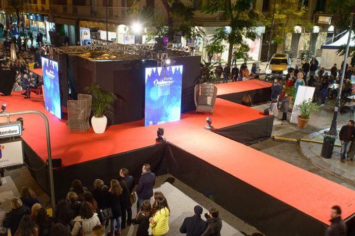 palco con passerella per cerimonie e sfilate